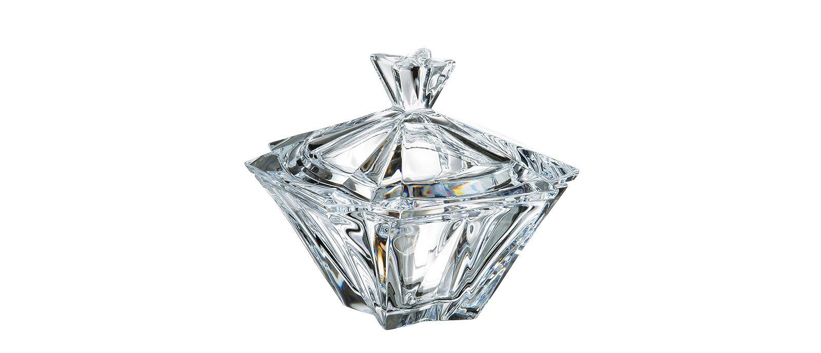 Φοντανιέρα Metropolitan Bohemia Με Καπάκι Κρυστάλλινη 12cm home   κρυσταλλα  διακοσμηση   κρύσταλλα