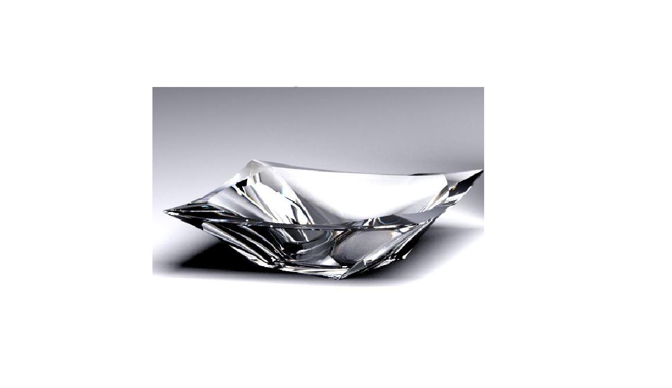 Πιατέλα Quadron Bohemia Κρυστάλλινο 39cm home   κρυσταλλα  διακοσμηση   κρύσταλλα