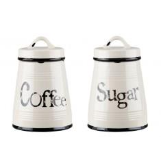 Σετ Δοχεία Coffee Sugar 2τμχ