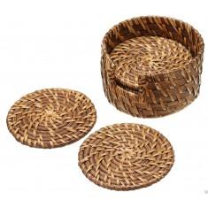 Σουβέρ Bamboo Artesa 10cm Σετ 6Τμχ Masterclass