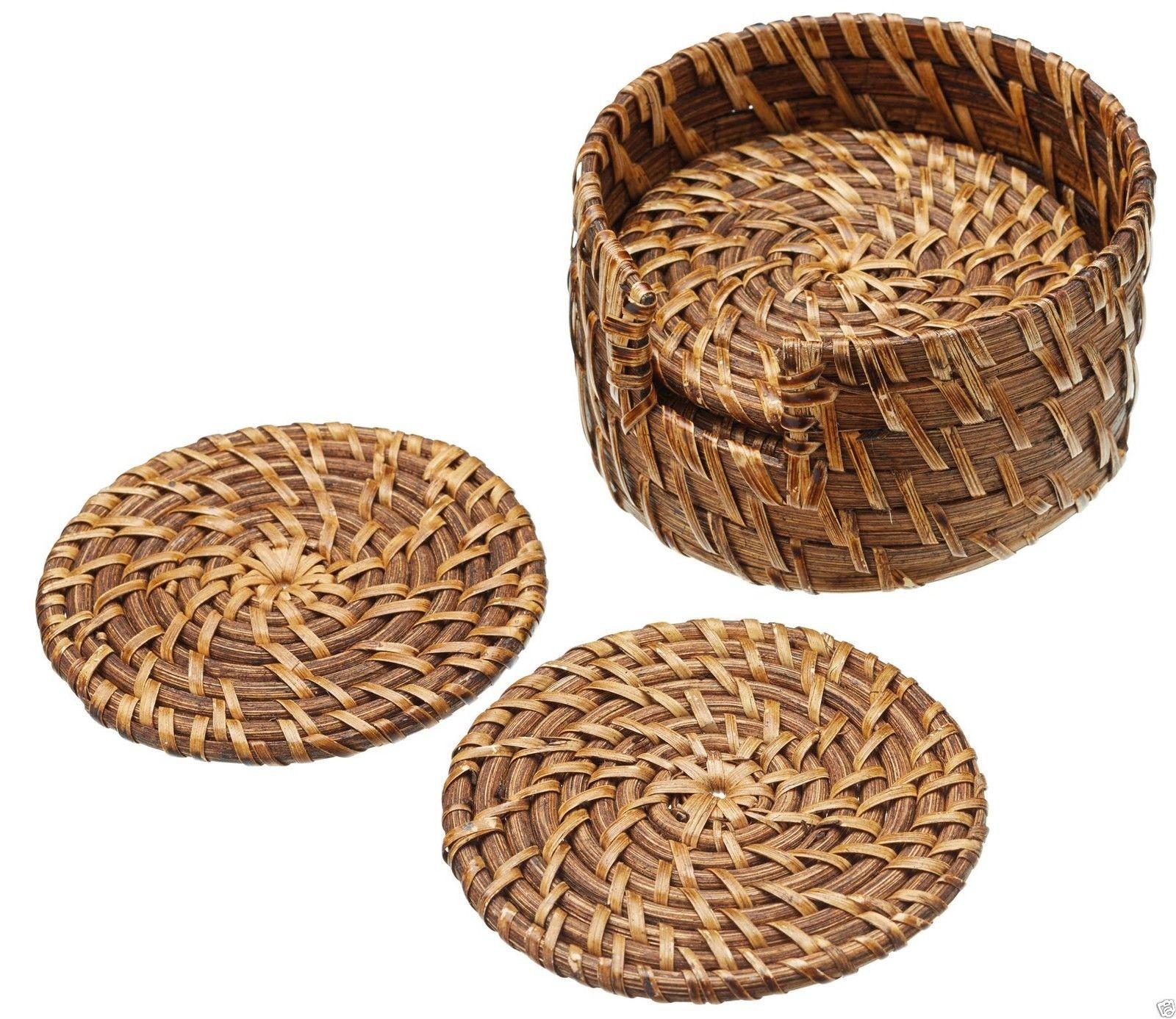 Σουβέρ Bamboo Artesa 10cm Σετ 6Τμχ Masterclass home   αξεσουαρ κουζινας   σουβέρ