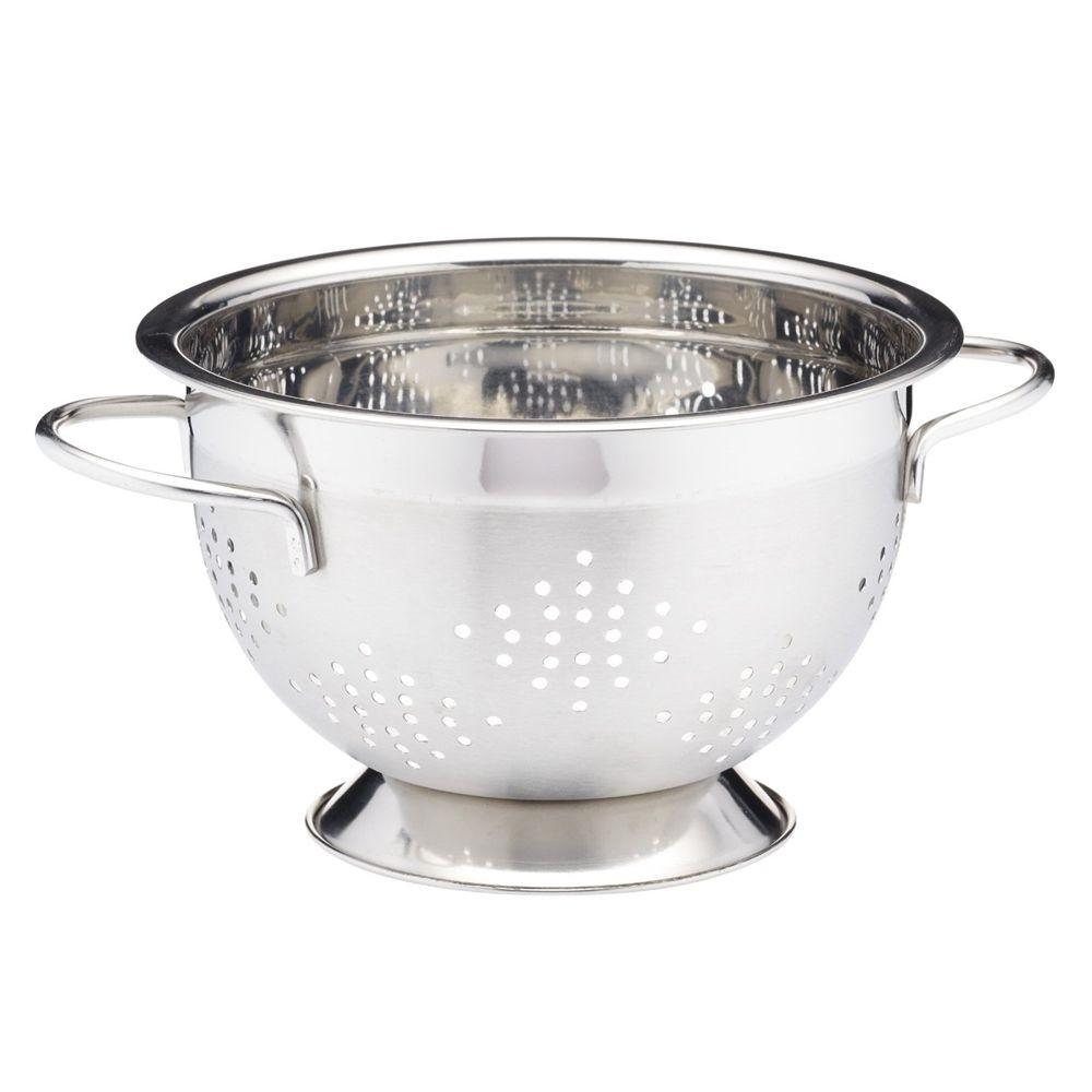 Σουρωτήρι Ανοξείδωτο 18/10 27cm Masterclass home   εργαλεια κουζινας   σουρωτήρια