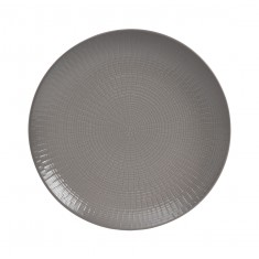 Πιάτο Ρηχό Γκρι Stoneware
