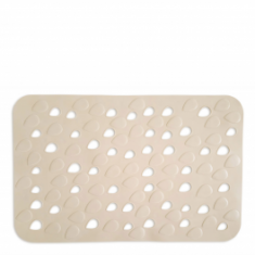 Αντιολσθητικό Ταπέτο Μπάνιου Drops Μπεζ 34X54