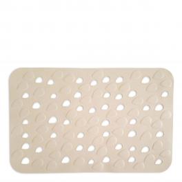 Αντιολισθητικό Ταπέτο Μπάνιου Drops Μπεζ 34X54 home   ειδη μπανιου   χαλιά