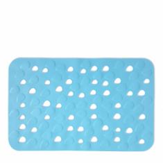 Αντιολισθητικό Ταπέτο Μπάνιου Drops Σιέλ 34X54