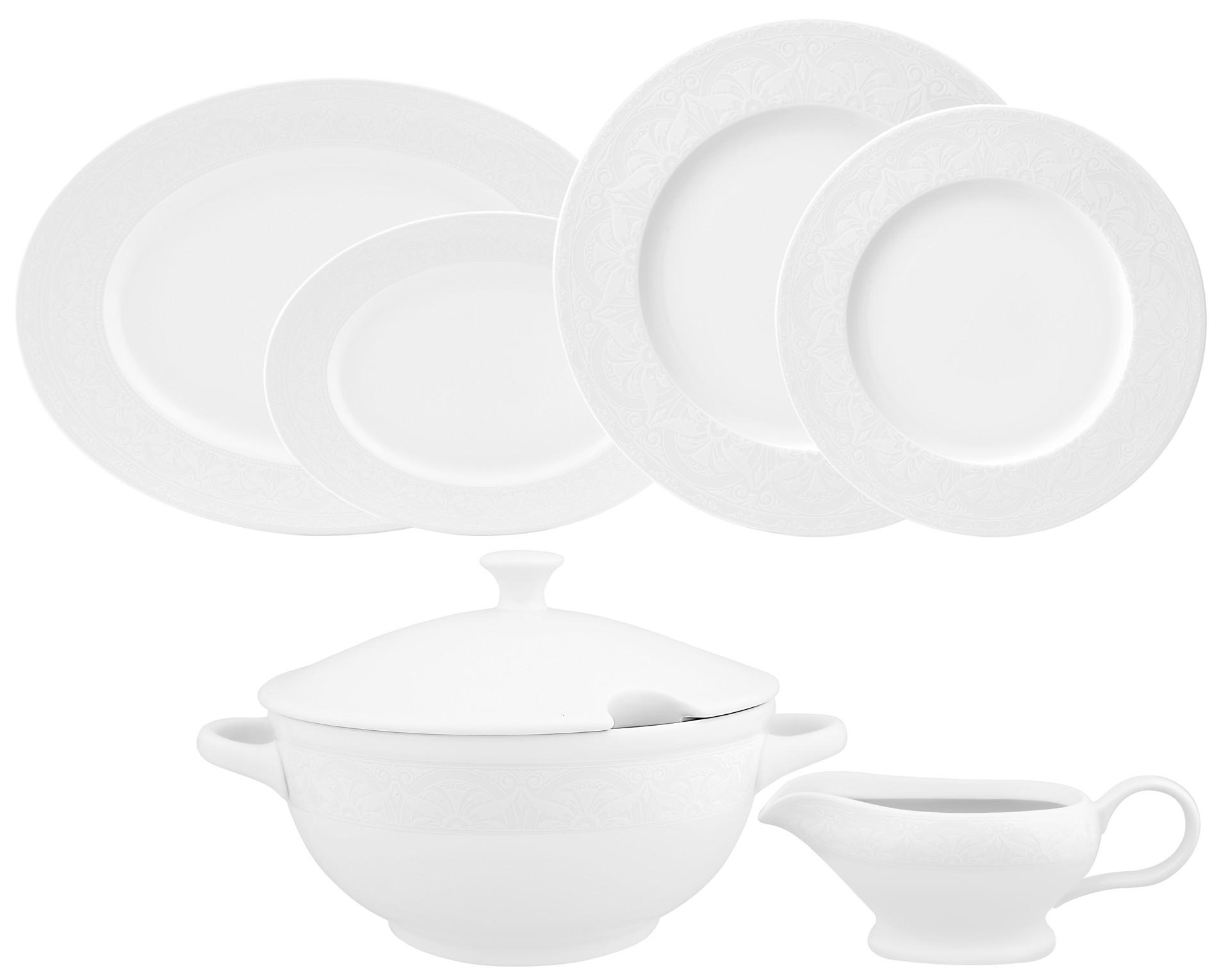 Σερβίτσιο Φαγητού Nostalgia 33τμχ. Ionia home   ειδη σερβιρισματος   πιάτα   σερβίτσια