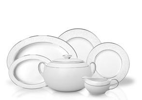 Σερβίτσιο Φαγητού Fiore Platin 72τμχ. Ionia home   ειδη σερβιρισματος   πιάτα   σερβίτσια