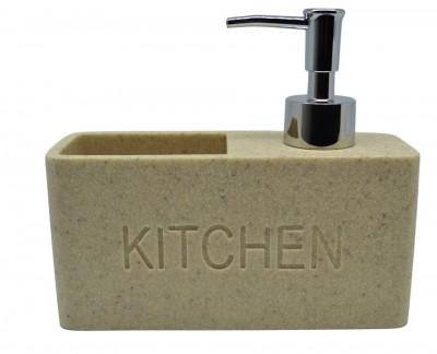 Dispencer Θήκη Για Υγρό Απορυπαντικό Πιάτων Μπεζ home   αξεσουαρ κουζινας   πιατοθήκες   στεγνωτήρες