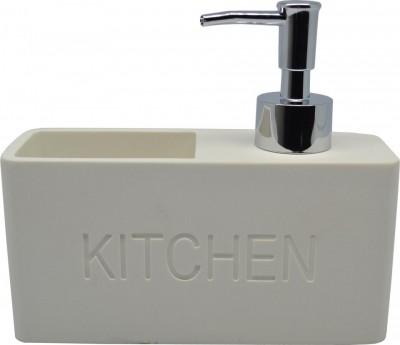 Dispencer Θήκη Για Υγρό Απορυπαντικό Πιάτων Λευκό home   αξεσουαρ κουζινας   πιατοθήκες   στεγνωτήρες