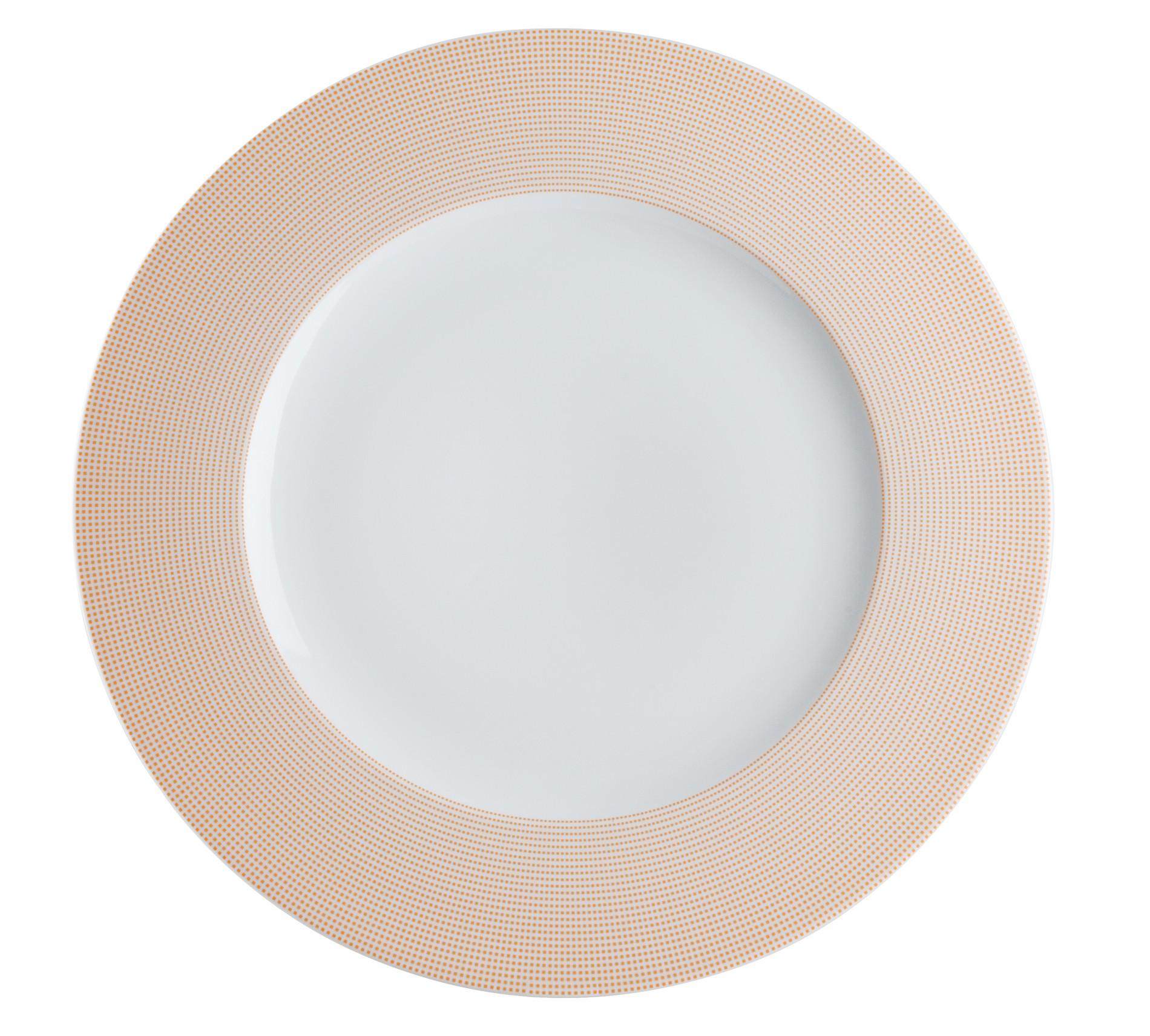 Πιατέλα Στρογγυλή Punto Orange 32cm Ionia home   ειδη σερβιρισματος   πιατέλες