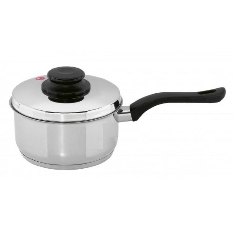 Γαλατιέρα Inox 18/10 16cm home   σκευη μαγειρικης   κατσαρόλες χύτρες