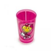 Ποτήρι Σωλήνα Μελαμίνης Zak Designs Smiley Kid Girl 260ml