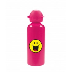 Παγούρι Αλλουμινίου Smiley Emoticon Happy Zak Designs Pink 600ml