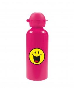 Παγούρι Αλλουμινίου Smiley Emoticon Happy Zak Designs Pink 600ml home   ειδη σερβιρισματος   είδη bebe