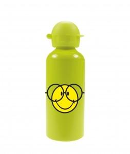 Παγούρι Αλλουμινίου Smiley Emoticon Glasses Zak Designs Green 600ml home   ειδη σερβιρισματος   είδη bebe