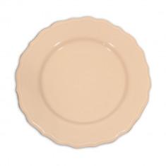 Πιάτο Κεραμικό Ρηχό 28cm Ροζ Happy Ware Juliet