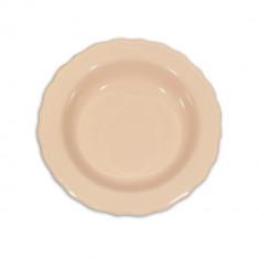 Πιάτο Κεραμικό Βαθύ 23cm Ροζ Happy Ware Juliet