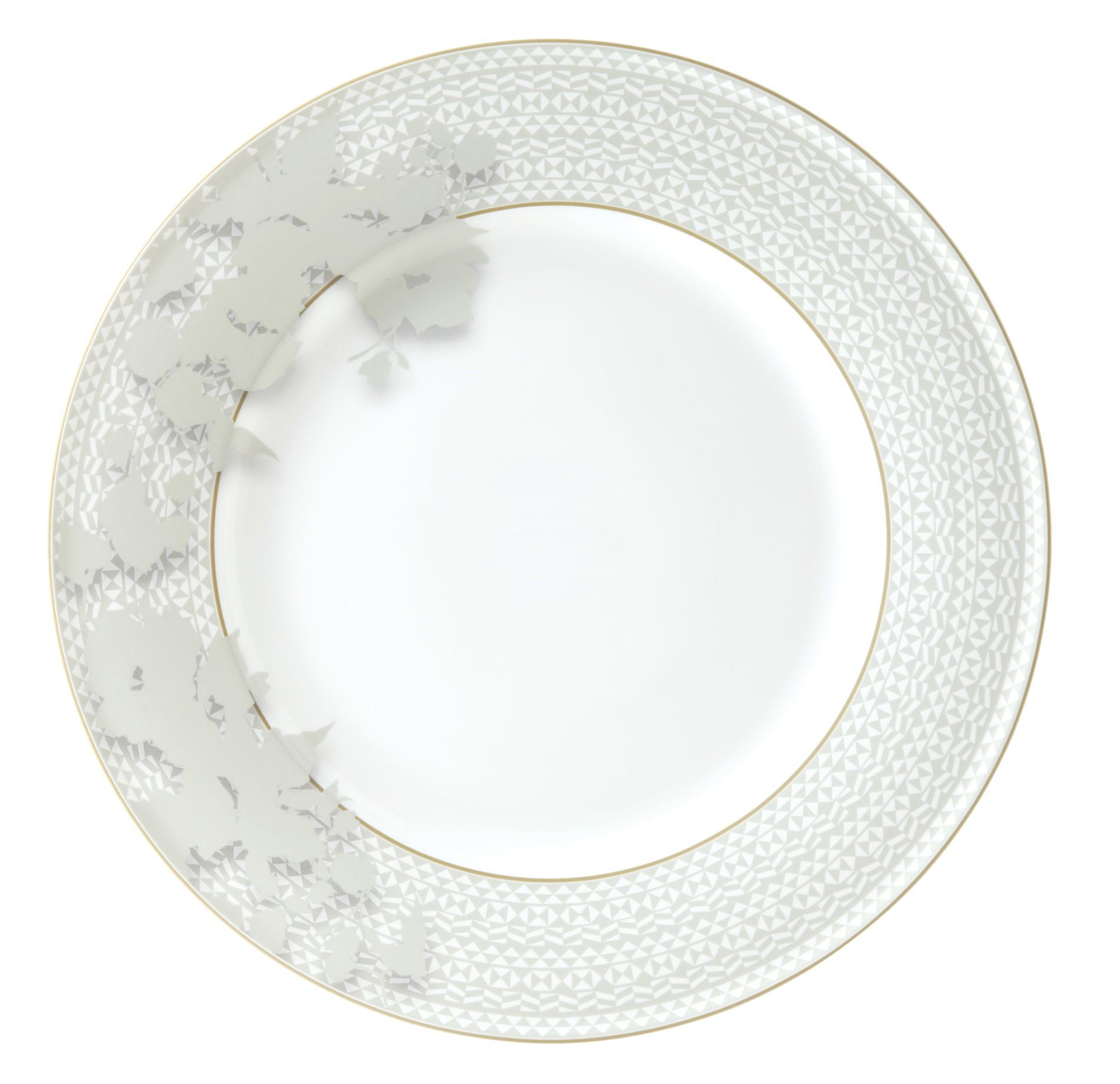 Πιατέλα Στρογγυλή Silk Bone China 30cm Ionia home   ειδη σερβιρισματος   πιατέλες