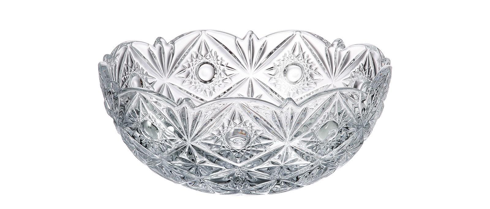 Κουπ Miranda Bohemia Κρυστάλλινο 22cm home   κρυσταλλα  διακοσμηση   κρύσταλλα   κουπ