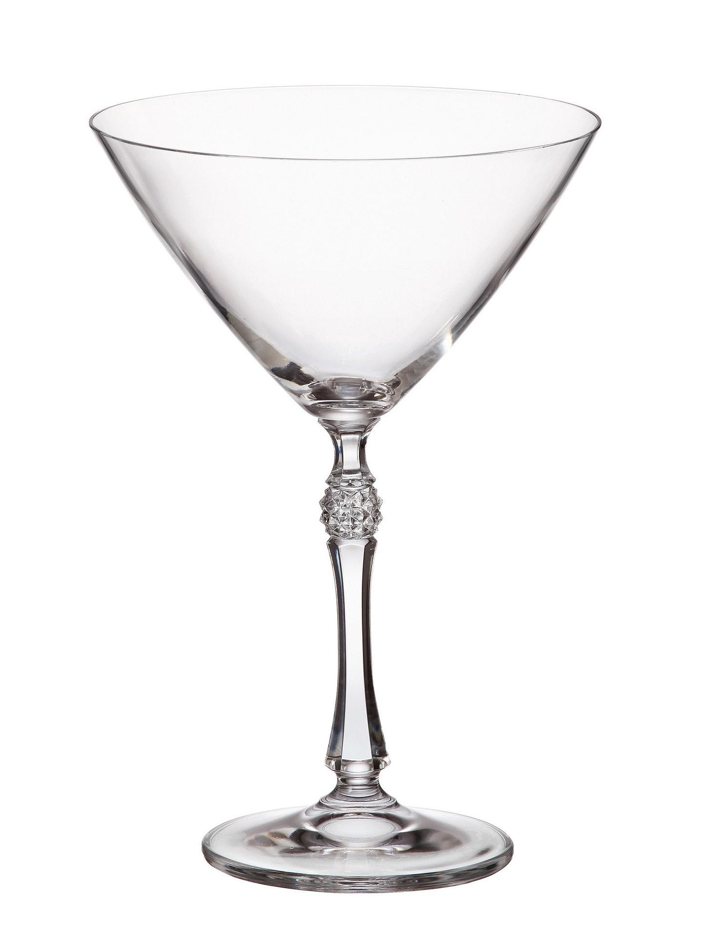 Ποτήρι Martini Σετ 6 Τμχ Κρυστάλλινο Bohemia Proxima 280ml