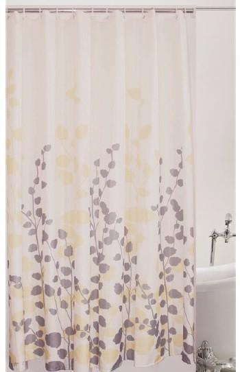 Κουρτίνα Μπάνιου Υφασμάτινη 180x180cm Nature home   ειδη μπανιου   κουρτίνες μπάνιου