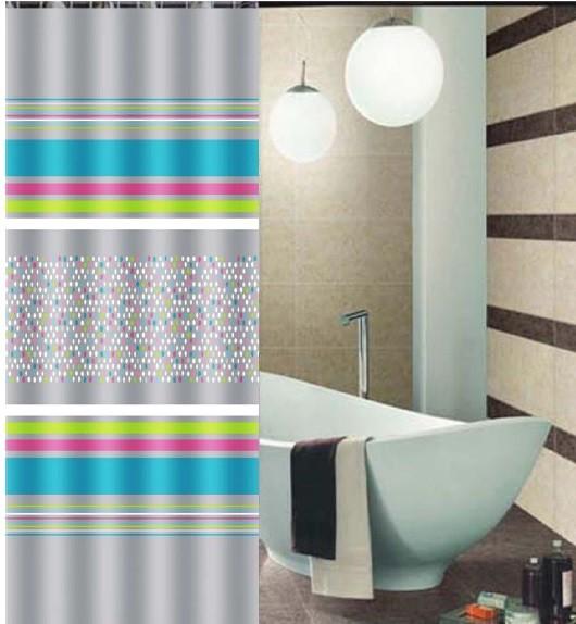 Κουρτίνα Μπάνιου Υφασμάτινη 180x180cm Digital home   ειδη μπανιου   κουρτίνες μπάνιου