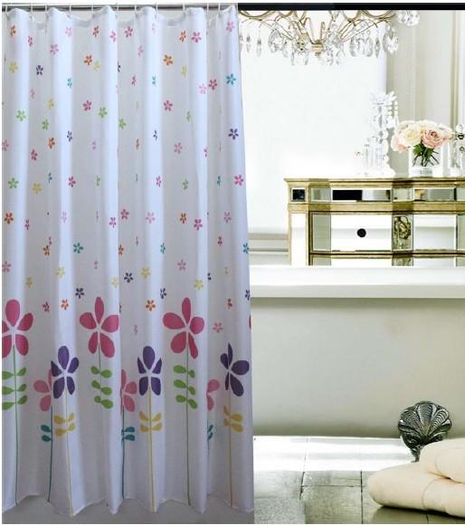 Κουρτίνα Μπάνιου Υφασμάτινη 180x180cm Garden home   ειδη μπανιου   κουρτίνες μπάνιου