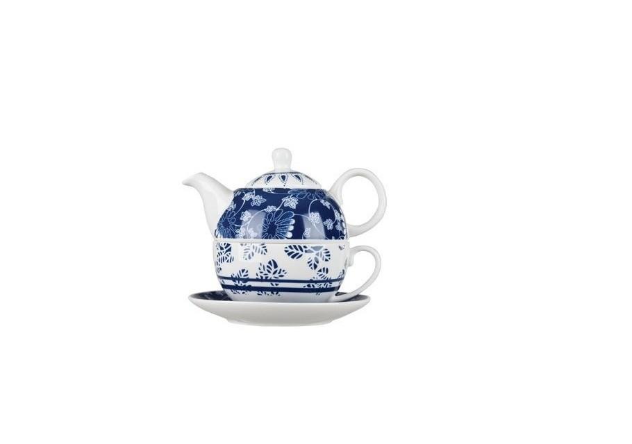Τσαγιέρα Πορσελάνης Με Φλιτζάνι Trimar 350ml home   ειδη cafe τσαϊ   τσαγιέρες