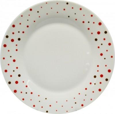 Σερβίτσιο Φαγητού Πουά 18 Τεμαχίων Στρογγυλό home   ειδη σερβιρισματος   πιάτα   σερβίτσια