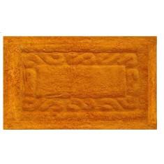 Ταπέτο Μπάνιου Chic Βαμβακερό Πορτοκαλί 50X80