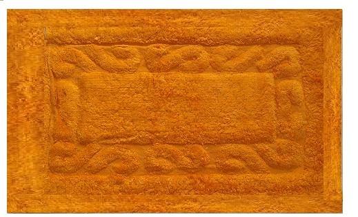 Πατάκι Μπάνιου Chic Βαμβακερό Πορτοκαλί 50X80 home   ειδη μπανιου   χαλιά   πατάκια μπάνιου
