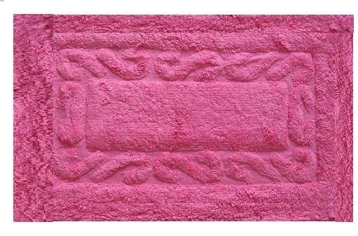 Πατάκι Μπάνιου Chic Βαμβακερό Φουξια 50X80 home   ειδη μπανιου   χαλιά   πατάκια μπάνιου