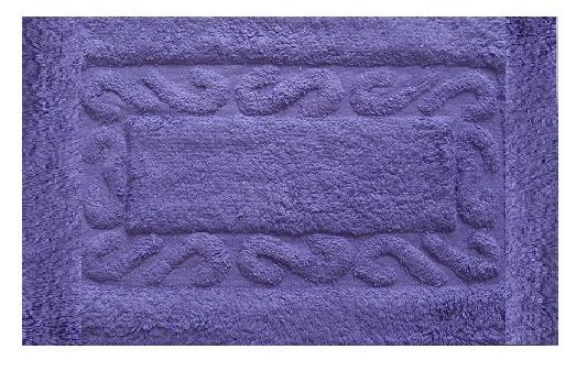 Πατάκι Μπάνιου Chic Βαμβακερό Μωβ 50X80 home   ειδη μπανιου   χαλιά   πατάκια μπάνιου