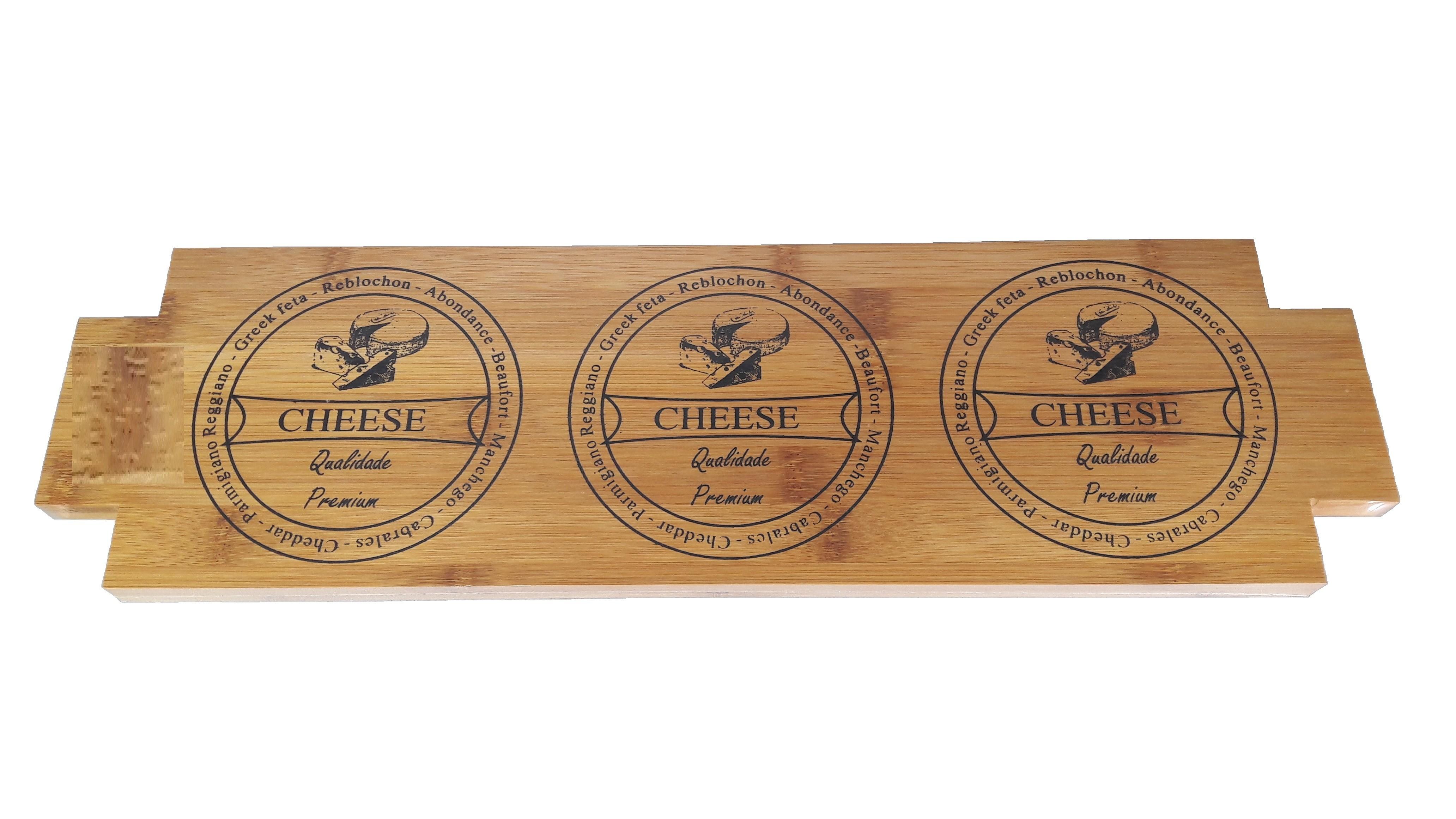 Πλατό Σερβιρίσματος Bamboo Cheese 47cm home   ειδη σερβιρισματος   πιατέλες