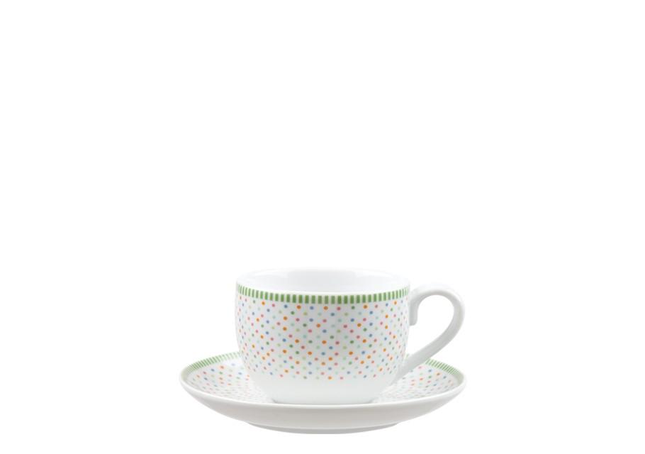 Φλυτζάνι & Πιάτο Τσαγιού Chromata Σετ 6τμχ Ionia home   ειδη cafe τσαϊ   κούπες   φλυτζάνια