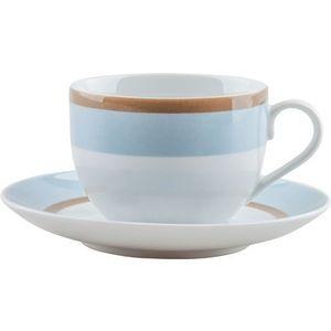 Φλυτζάνι & Πιάτο Τσαγιού Sky Σετ 6τμχ Ionia home   ειδη cafe τσαϊ   κούπες   φλυτζάνια