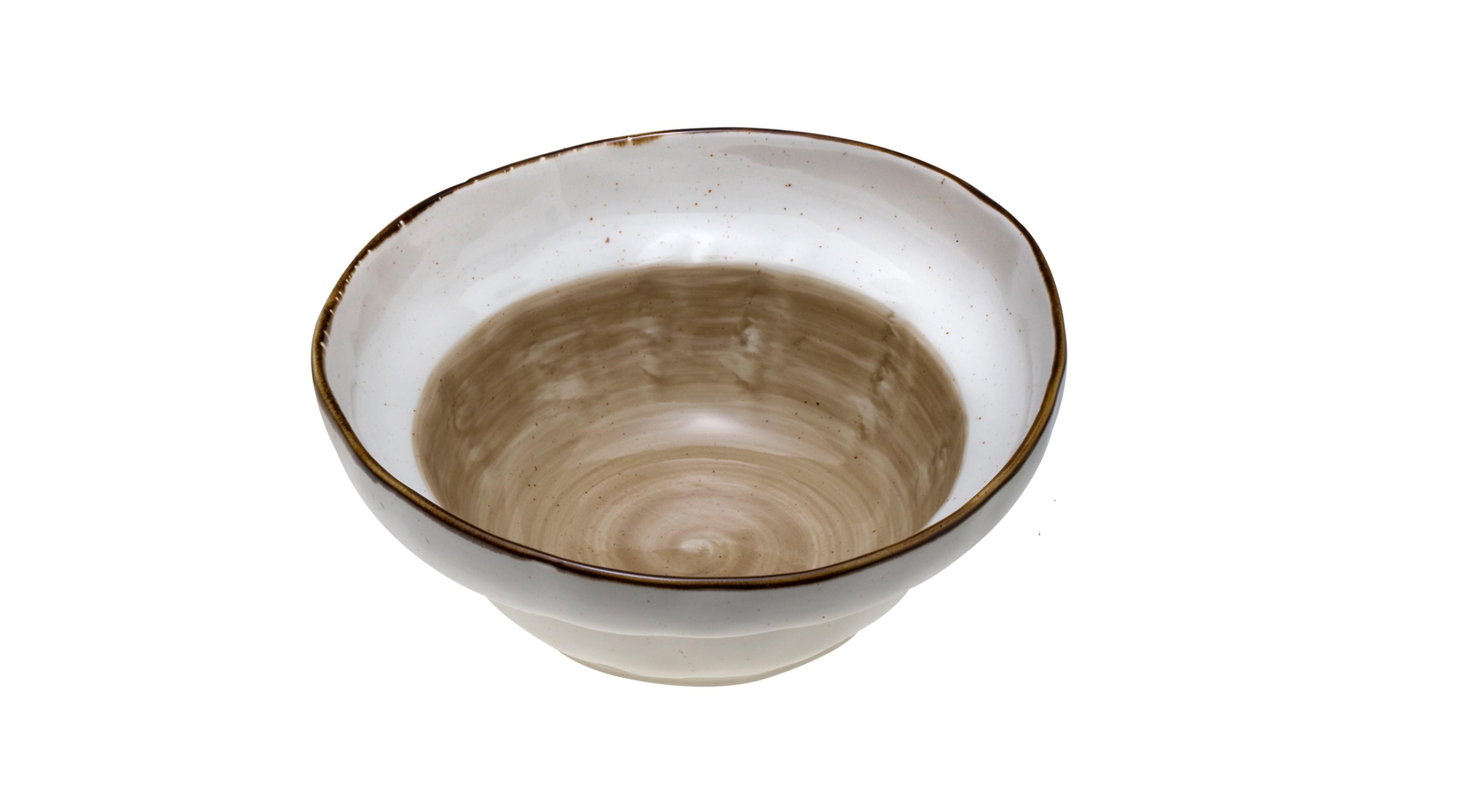 Μπολ Σαλάτας New Bone China Country Brown 26cm home   ειδη σερβιρισματος   μπολ   σαλατιέρες