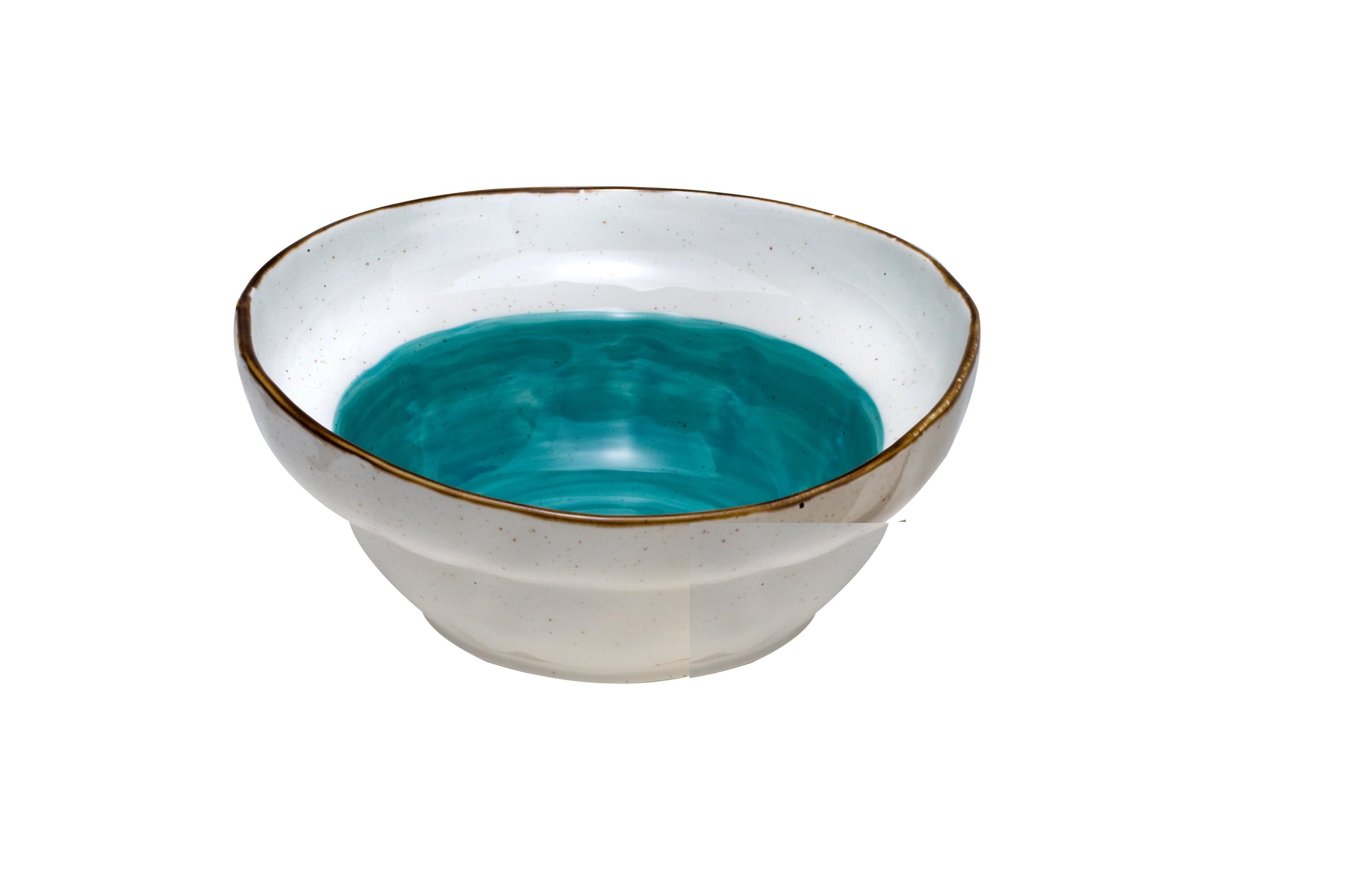 Μπολ Σαλάτας New Bone China Qountry Blue 26cm home   ειδη σερβιρισματος   μπολ   σαλατιέρες