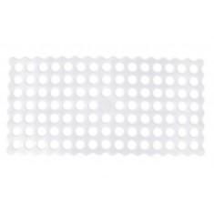 Αντιολισθητικό Ταπέτο Μπάνιου Golf Λευκό 34X68
