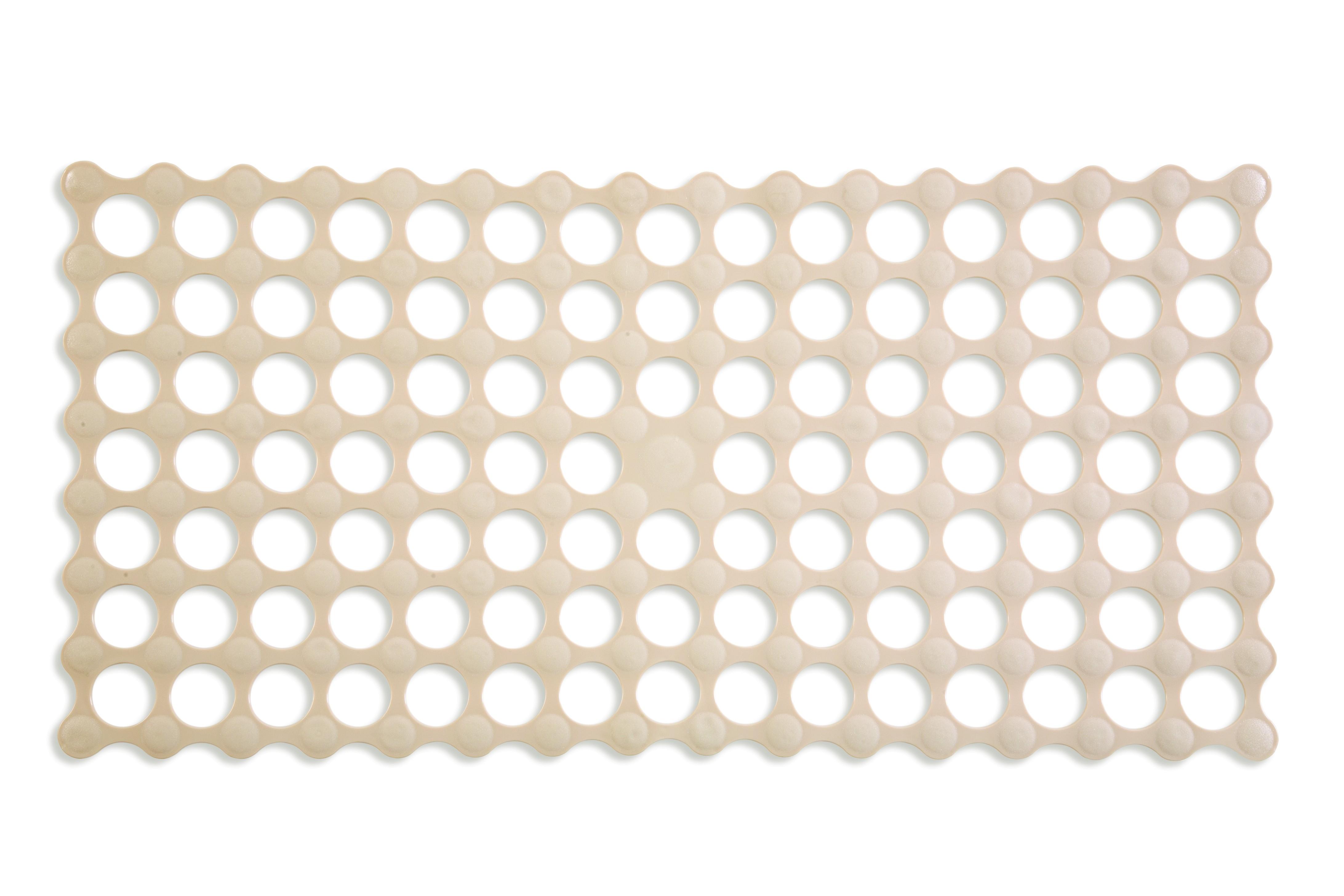Αντιολισθητικό Ταπέτο Μπάνιου Golf Μπεζ 34X68 home   ειδη μπανιου   χαλιά   πατάκια μπάνιου