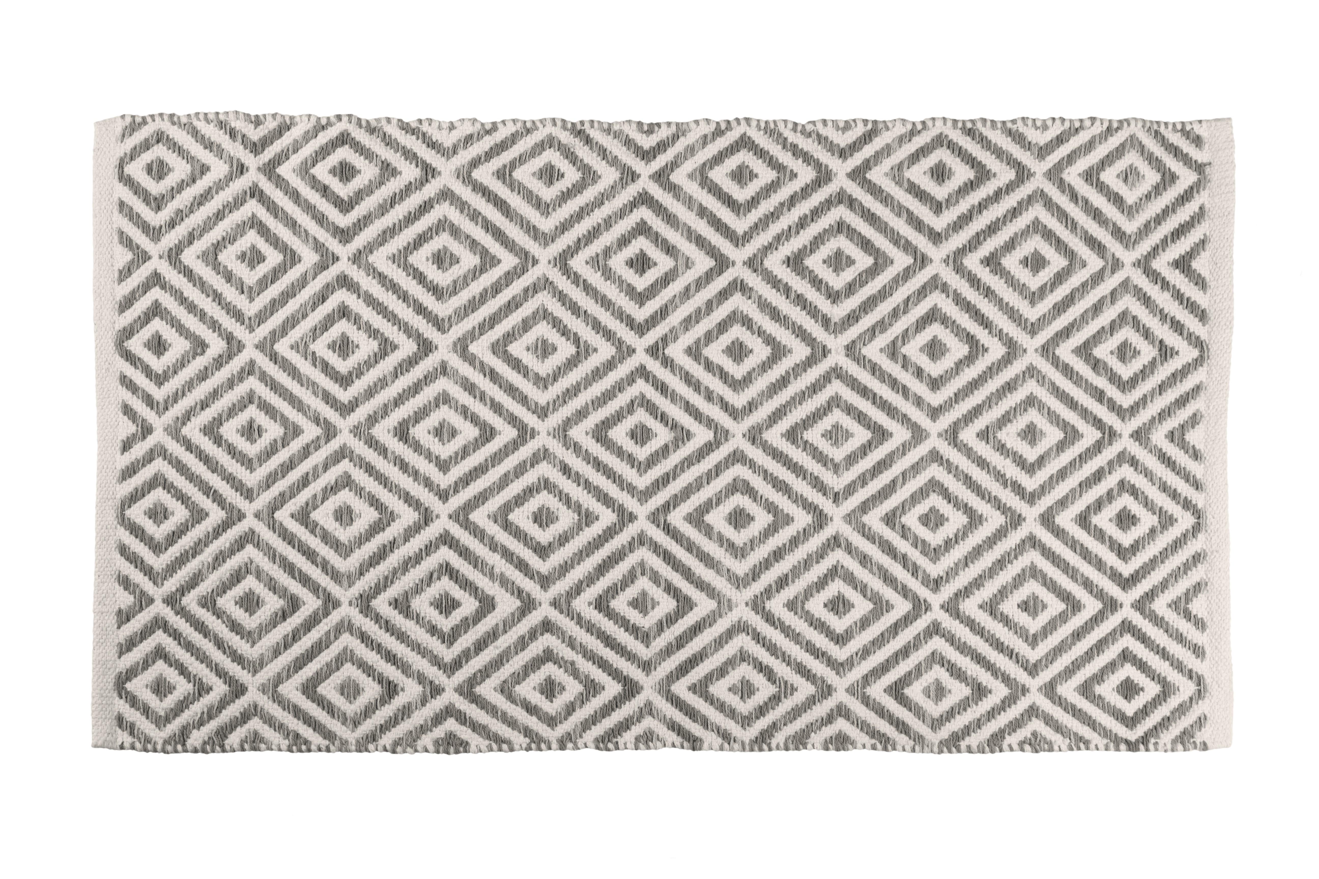 Πατάκι Μπάνιου Βαμβακερό Anthracite 50x80cm home   ειδη μπανιου   χαλιά
