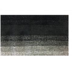 Ταπέτο Μπάνιου Ombre Βαμβακερό Μαύρο 50cm X 80cm