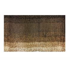 Ταπέτο Μπάνιου Ombre Βαμβακερό Καφέ 50cm x 80cm