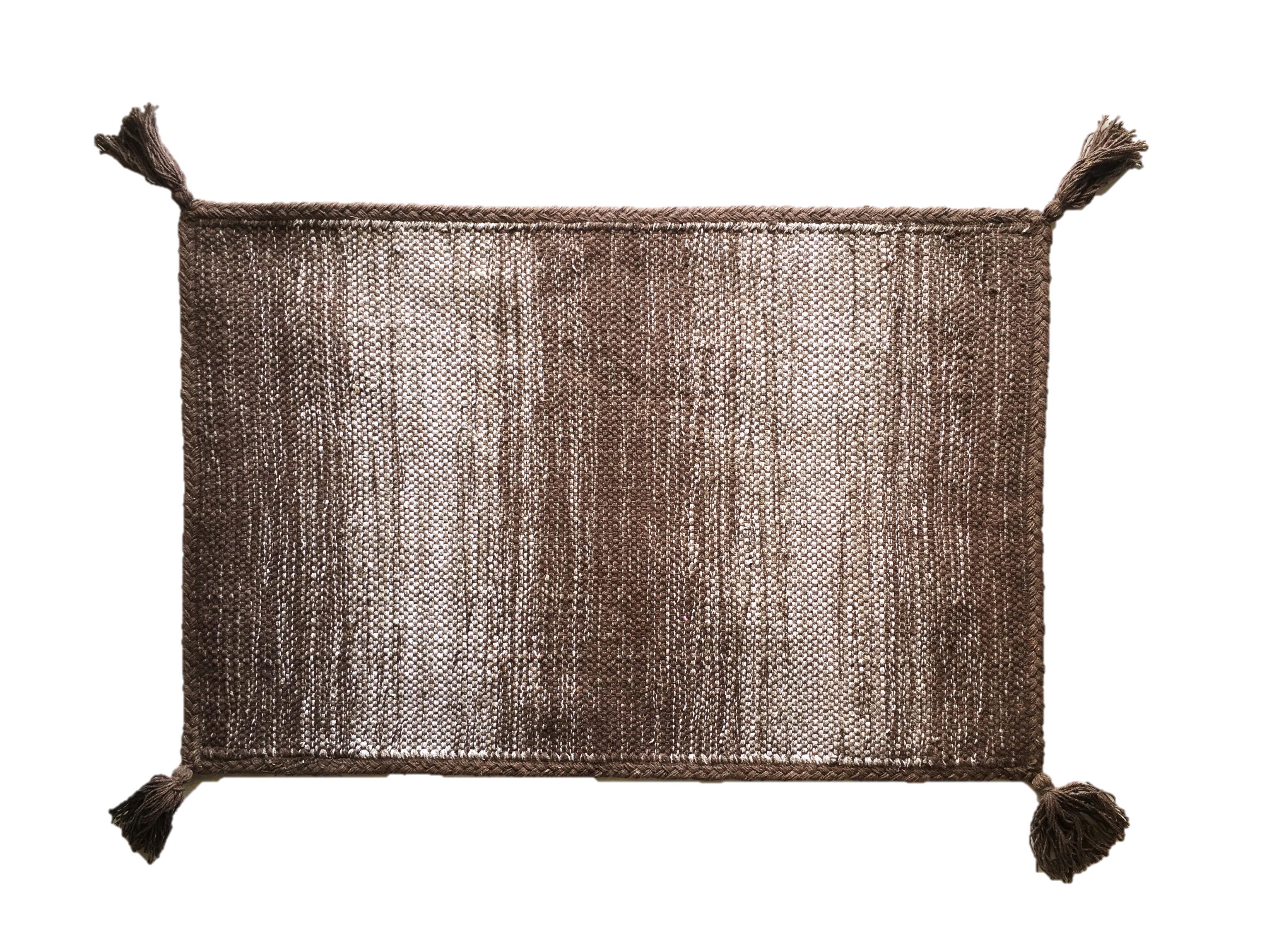 Χαλί Lora Εσωτερικού Χώρου Καφέ 135cm X 70cm home   ειδη μπανιου   χαλιά   πατάκια μπάνιου