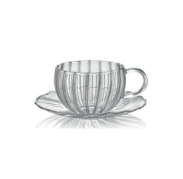 Φλιτζάνι Τσαγιού Διάφανο Coffe & Tea 240ml IVV home   ειδη cafe τσαϊ   κούπες   φλυτζάνια