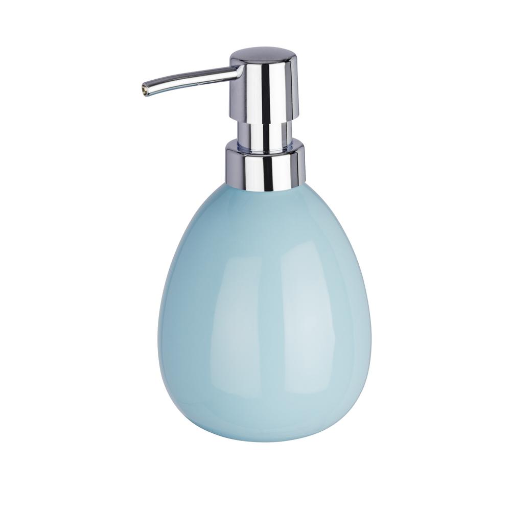 Dispencer Θήκη Για Κρεμοσάπουνο Polaris Baby Blue home   ειδη μπανιου   αξεσουάρ μπάνιου   dispencer