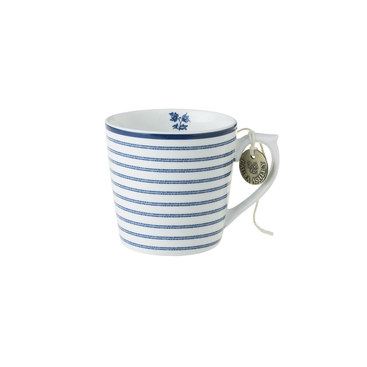 Κούπα Laura Ashley Candy Stripe Fine Bone China 220ml home   ειδη cafe τσαϊ   κούπες   φλυτζάνια