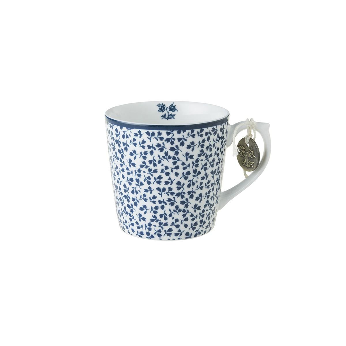 Κούπα Laura Ashley Floris Fine Bone China 220ml home   ειδη cafe τσαϊ   κούπες   φλυτζάνια
